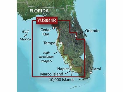 Garmin BlueChart g2 HD Florida Gulf Coast SD Card