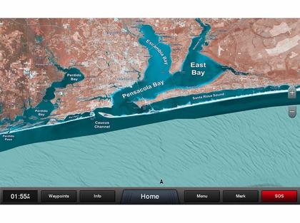 Garmin Standard Mapping - Emerald Coast - Classic - microSD/SD Card