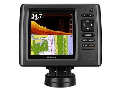 Garmin echoMAP CHIRP 54dv w/ BlueChart g2 & DownVu Transducer