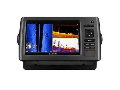 Garmin echoMAP CHIRP 73sv w/ US LakeVu HD & DownVu/SideVu Transducer