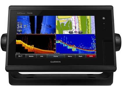 Garmin GPSMAP 7608 - Preloaded LakeVÜ HD & BlueChart g2