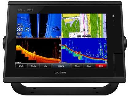 Garmin GPSMAP 7610 - Preloaded LakeVÜ HD & BlueChart g2