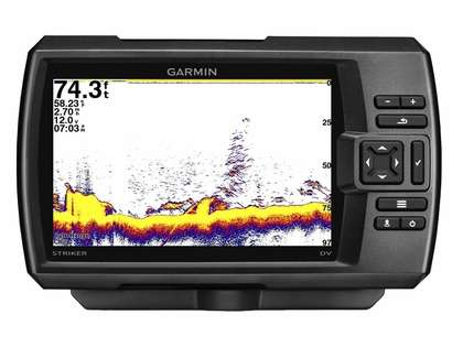 Garmin STRIKER 7dv Fishfinder w/ 77/200kHz DownVu Transducer