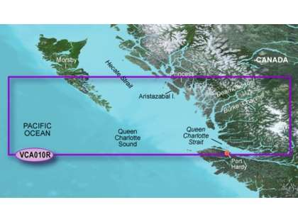 Garmin BlueChart g2 Vision Hecate Strait South SD Card