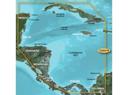 Garmin BlueChart g2 Vision Southwest Caribbean SD Card