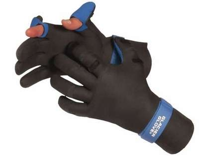 Glacier Glove Pro Angler Glove 821BK - Medium