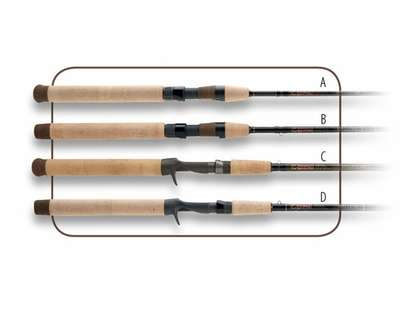 G-Loomis WPJR821SGLX Walleye Series Rods