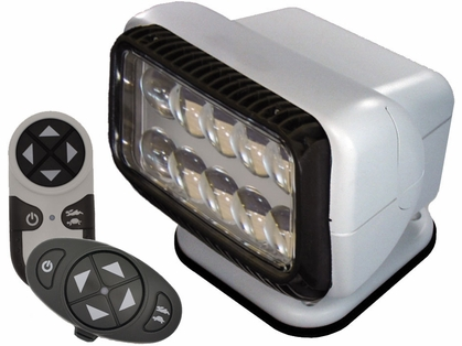 Golight Permanent RadioRay LED w/ Wireless & Dash Remote - White