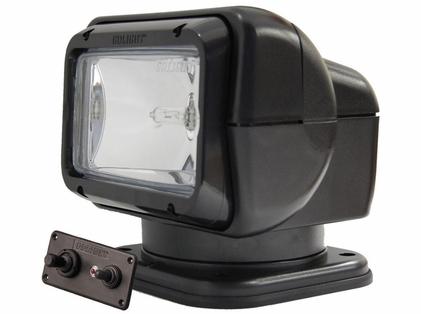Golight Searchlight w/ Wired Dash Mount Remote - Black