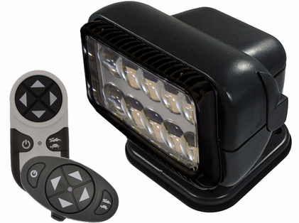 Golight Permanent RadioRay LED w/ Wireless & Dash Remote - Black