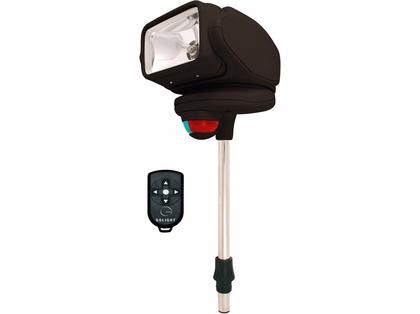 Golight Gobee Stanchion Mount w/ Wireless Remote - Black