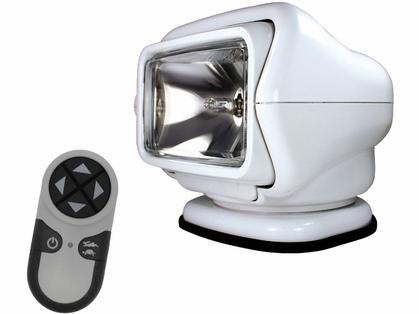 Golight Stryker Searchlight 12V w/ Wireless Handheld Remote - White