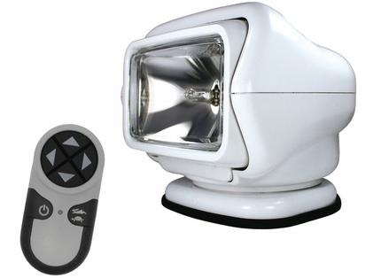 Golight HID Stryker Searchlight 12V w/ Wireless Remote - White