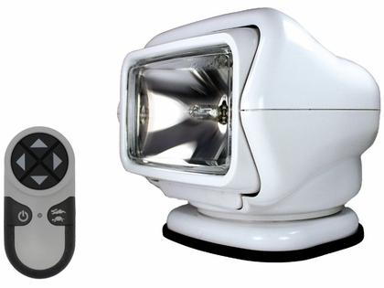 Golight Stryker Searchlight w/ Wireless Remote - Magnet Base - White