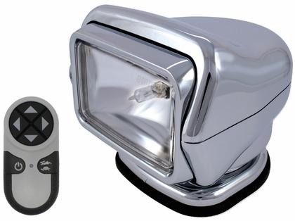Golight Stryker Searchlight w/ Wireless Remote - Magnet Base - Chrome