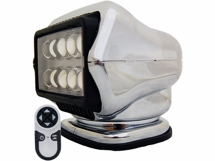 Golight LED Stryker Searchlight w/ Wireless Remote - Mounted - Chrome