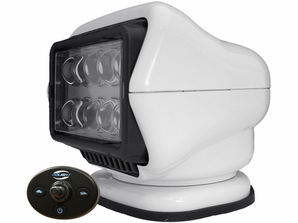 Golight LED Stryker Searchlight w/ Wired Dash Remote Mounted - White