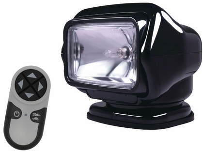 Golight Stryker Searchlight 12V w/ Wireless Handheld Remote - Black