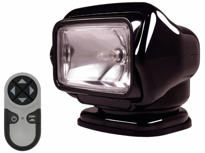 Golight Stryker Searchlight w/ Wireless Remote - Magnet Base - Black