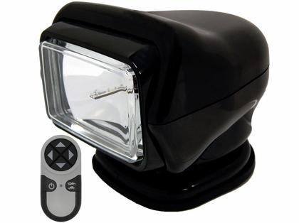 Golight HID Stryker Searchlight w/ Wireless Remote - Magnetic - Black