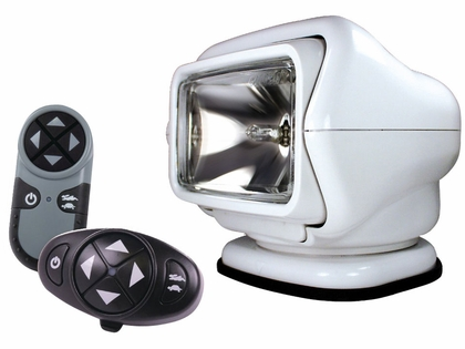 Golight Stryker Searchlight 12V w/ Wireless Dash & Remote - White