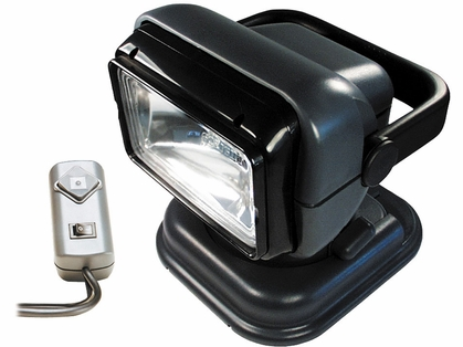 Golight Portable Searchlight w/ Wired Remote - Grey