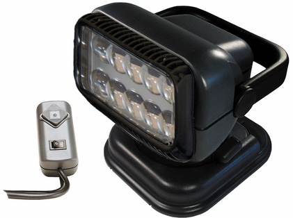 Golight Portable RadioRay LED w/ Wired Remote - Grey