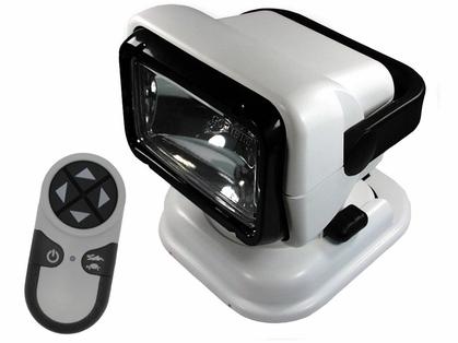Golight Portable RadioRay w/ Wireless Remote - White