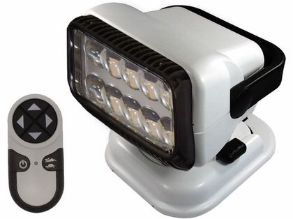 Golight Portable RadioRay LED w/ Wireless Remote - White