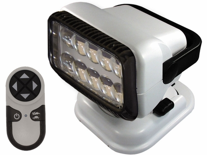 Golight Portable RadioRay LED w/ Wireless Handheld Remote - White