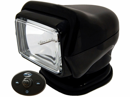 Golight HID Stryker Searchlight w/ Wired Dash Remote - Permanent Mount