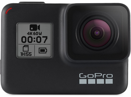 GoPro Hero7 Black 4K60/12MP Action Camera