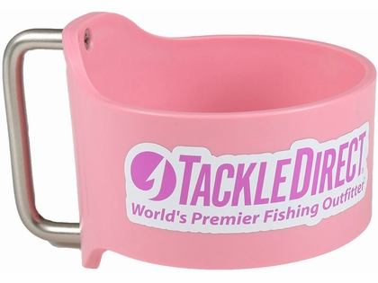 Grapplr Cup Handle for Yeti 30oz Rambler w/ TackleDirect Logo Pink