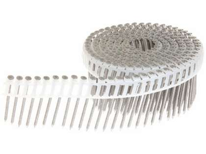 Grip-Rite PrimeGuard MAX 316 Stainless Steel Plastic Coil Siding Nails