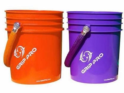 GripPro 360 Rope Bucket Orange/Orange