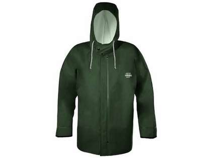 Grundens B44G Brigg 44 Rainjacket With Neoprene Cuff Green Sizes 3XL-5XL