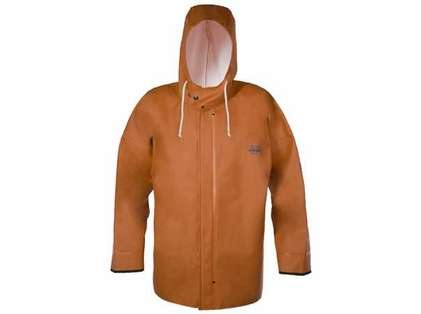 Grundens B44O Brigg 44 Rainjacket With Neoprene Cuff Orange