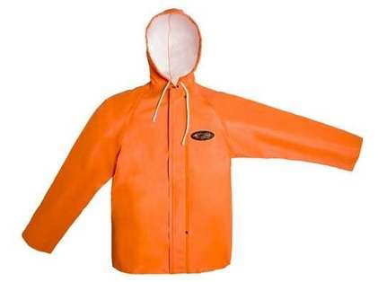 Grundens C282O Clipper Hooded Child's Parka Orange