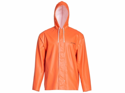 Grundens Clipper 82 Hooded Parka Orange