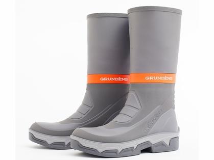 Grundens Deck Boss Boots - Grey/Orange - M12