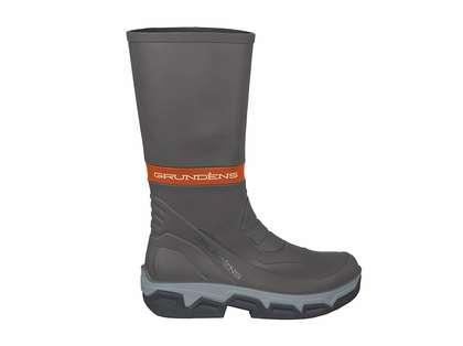 Grundens Deck Boss Boots - Grey/Orange