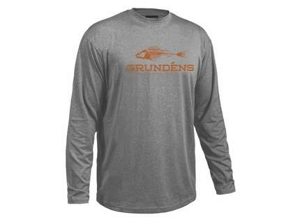 Grundens Deck Hand Long Sleeve Shirt - Monument Grey