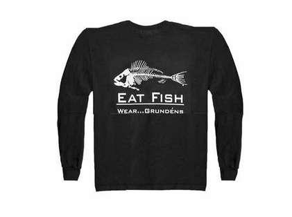 Grundens Gage EFLST Eat Fish Long Sleeve Tee Shirt
