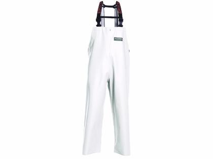 Grundens H16W Herkules 16 Bib Pant White - Size Large