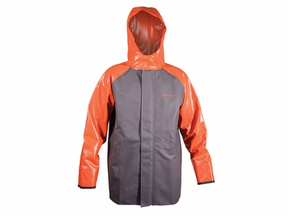 Grundens Hauler Jacket - Orange/Grey