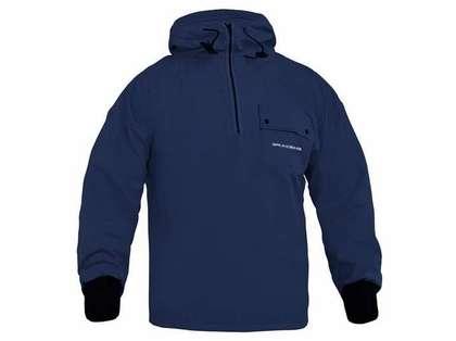 Grundens Sund 763 Hooded Pullover Navy
