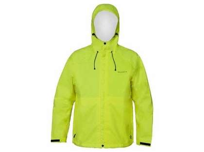 Grundens Weather Watch Hooded Jacket Hi-Vis Yellow