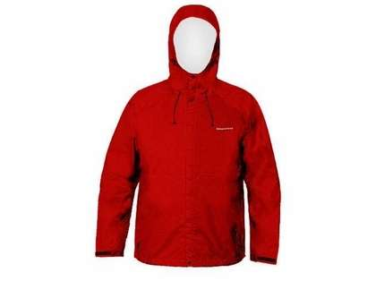 Grundens Weather Watch Hooded Jacket Red 3XL-5XL