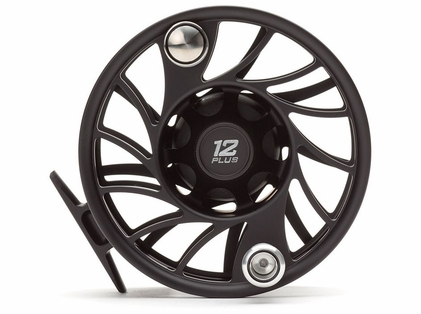 Hatch F12P-BK-MA Gen 2 Finatic 12 Plus Mid Arbor Fly Reel
