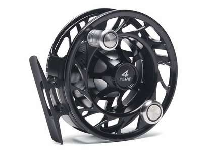 Hatch H4P-BK-LA Finatic 4 Plus Large Arbor Fly Reel